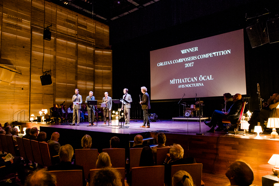Mithatcan Öcal wins Calefax Composers Competition 2017