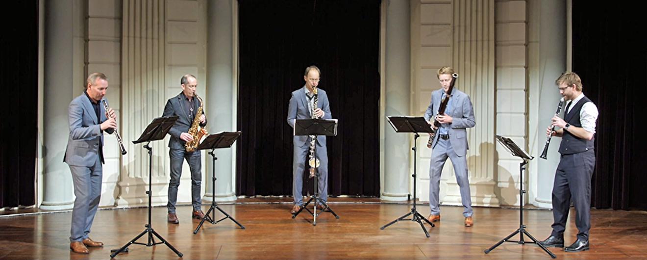 Bart de Kater is de nieuwe klarinettist van Calefax!